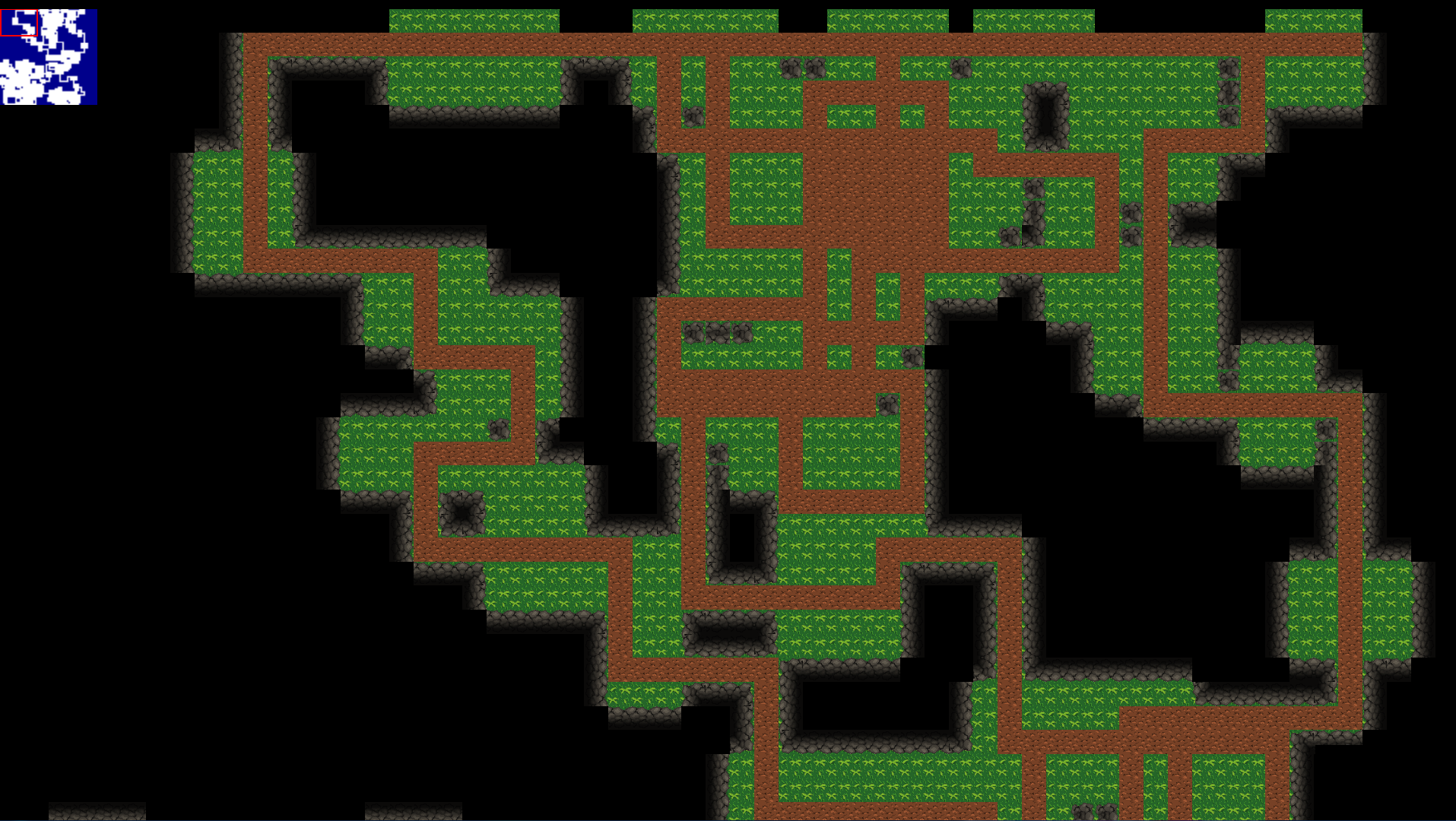 Procedural Dungeon Generation